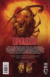 Verso de Star Wars - Invasion -2- Rescapés