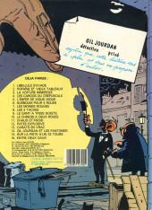 Verso de Gil Jourdan -2b1985- Popaïne et vieux tableaux