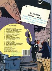 Verso de Gil Jourdan -3c1985- La voiture immergée