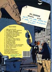 Verso de Gil Jourdan -14a1989- Gil Jourdan et les fantômes