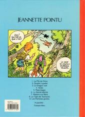 Verso de Jeannette Pointu -9- Les femmes girafes