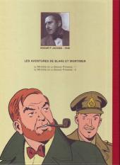 Verso de Blake et Mortimer (Les Aventures de) -4ES- Le Mystère de la Grande Pyramide - Tome 1