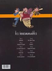 Verso de Les innommables (Série actuelle) -2- Aventure en jaune