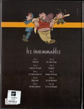 Verso de Les innommables (Série actuelle) -3- Le crâne du père Zé