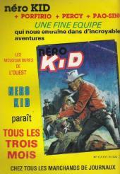 Verso de Tex-Tone -492- Les enfants du sénateur