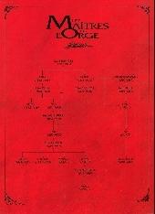 Verso de Les maîtres de l'Orge -6Pub1- Jay, 1973