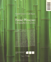 Verso de (DOC) La Bibliothèque des miroirs - BD - Hayao Miyazaki - Cartographie d'un univers