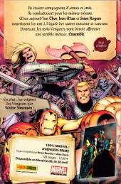 Verso de Marvel Icons (Marvel France - 2011) -2- Éléments premiers