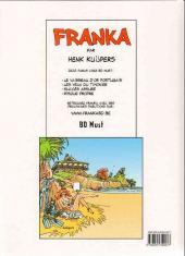 Verso de Franka (BD Must) -17- Risque propre