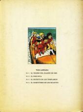 Verso de Club de los cinco (El) -4- El Cementerio de los Gigantes