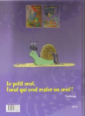 Verso de Le petit œuf -2- Opération poules mouillées