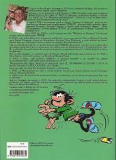 Verso de Gaston (en langues régionales) -10bzh- Gaston beiadeg 10