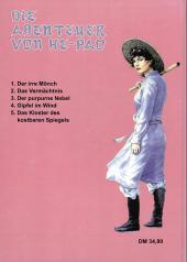 Verso de Abenteuer von He-Pao (Die) -5- Das Kloster des kostbaren Spiegels