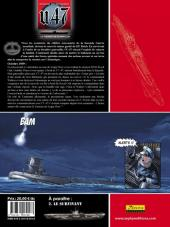 Verso de U.47 -1TL- Le Taureau de Scapa Flow