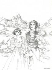 Verso de Le fer et le feu -1Esq- Adieu Baron