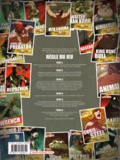 Verso de Battle Bash -1- Les Dessous de bras de l'enfer