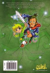Verso de Legend of Zelda (The) -10- Phantom Hourglass