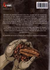 Verso de La mosca -7- Vol. 7