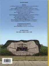 Verso de Lefranc (Les voyages de/Les reportages de) -4- Le mur de l'atlantique