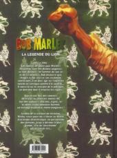 Verso de Bob Marley -2- La légende du lion