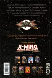 Verso de Star Wars - X-Wing Rogue Squadron (Delcourt) -9- Dette de sang