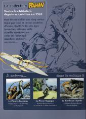 Verso de Rahan - La Collection (Altaya) -1- L'enfance de Rahan - Le secret du soleil - La horde folle