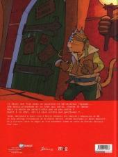 Verso de La véritable histoire du chat botté