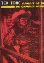 Verso de Tex-Tone -366- Lourde hérédité