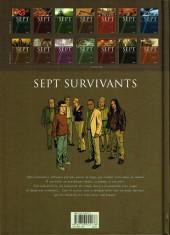 Verso de Sept -8- Sept Survivants