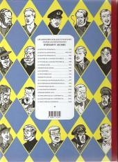 Verso de Blake et Mortimer -14Soir- La Machination Voronov