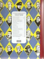 Verso de Blake et Mortimer (Les Aventures de) -13Soir- L'affaire Francis Blake