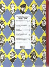 Verso de Blake et Mortimer (Les Aventures de) -18Soir- Le sanctuaire du Gondwana