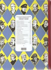 Verso de Blake et Mortimer (Les Aventures de) -16Soir- Les Sarcophages du 6e continent - Tome I - La Menace universelle