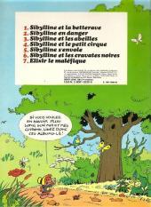 Verso de Sibylline -3a1981- Sibylline et les abeilles