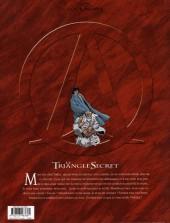 Verso de Le triangle secret -1a11- Le Testament du Fou