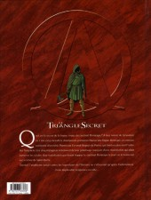 Verso de Le triangle secret - I.N.R.I -1a- Le Suaire