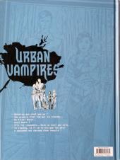 Verso de Urban Vampires -1- Une affaire de famille