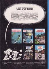Verso de Spirou et Fantasio -1c1972'- 4 aventures de Spirou ...et Fantasio