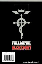 Verso de FullMetal Alchemist -26- Tome 26