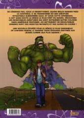 Verso de Hulk - Les aventures -1- Le plus costaud des héros !
