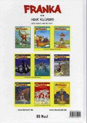 Verso de Franka (BD Must) -11- Le Vol de l'Atlantis