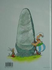 Verso de Astérix (Hachette) -4c11- Astérix gladiateur