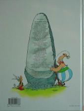 Verso de Astérix (Hachette) -6d11- Astérix et Cléopâtre