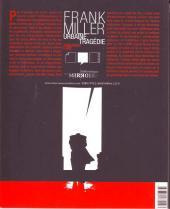 Verso de (DOC) La Bibliothèque des miroirs - BD -4- Frank Miller - Urbaine tragédie
