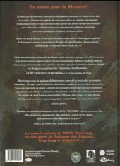 Verso de Dr. Grordbort présente : Victoire - Violence et aventures scientifiques