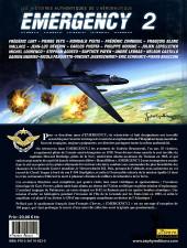 Verso de Emergency - Les Histoires authentiques de l'aéronautique -2- N°2