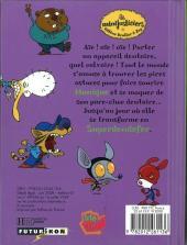 Verso de Les minijusticiers -8- Superdendefer