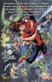 Verso de Marvel (Les grandes sagas) -1- Spider-man