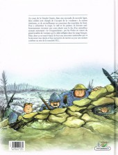 Verso de Les godillots -1- Le Plateau du croquemitaine