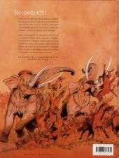 Verso de Reconquêtes -1- La Horde des vivants